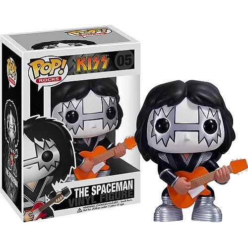 KISS Ace Frehley Spaceman POP! Rock Vinyl Figure
