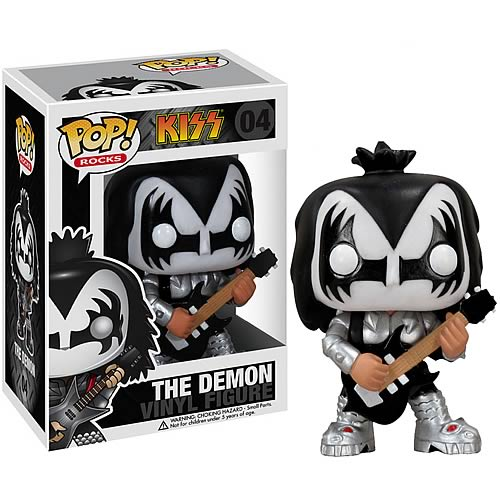 KISS Gene Simmons The Demon POP! Rock Vinyl Figure