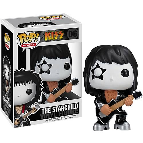 KISS Paul Stanley Starchild  POP! Rock Vinyl Figure