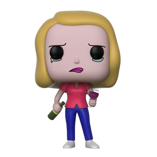 Rick and Morty Beth with Wine Glass Pop! Vinyl Figure #301