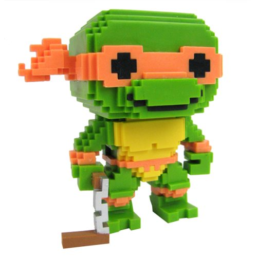TMNT Michelangelo 8-Bit Pop! Vinyl Figure #07