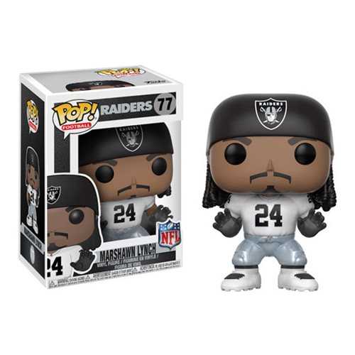 NFL Marshawn Lynch Raiders Wave 4 Pop! Vinyl Figure #77