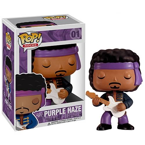 Jimi Hendrix Purple Haze POP! Rock Vinyl Figure