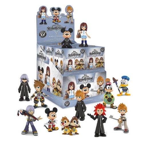 Kingdom Hearts Mystery Minis Display Case