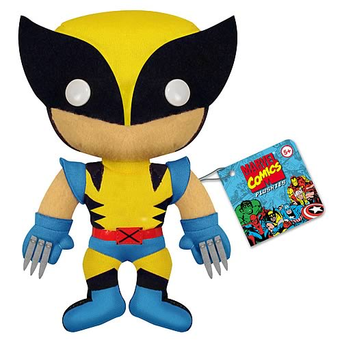 X-Men Wolverine 7-Inch Plush