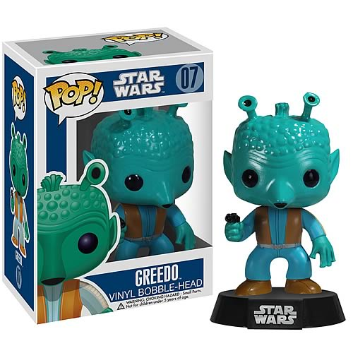 Star Wars Greedo Pop! Vinyl Figure Bobble Head