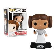 Star Wars Princess Leia Pop! Vinyl Figure Bobble Head