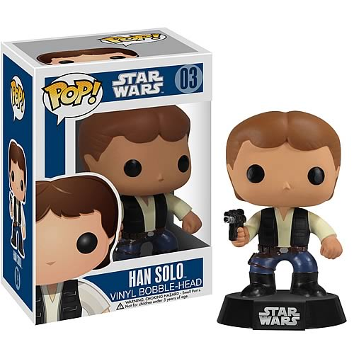 Star Wars Han Solo Pop! Vinyl Figure Bobble Head