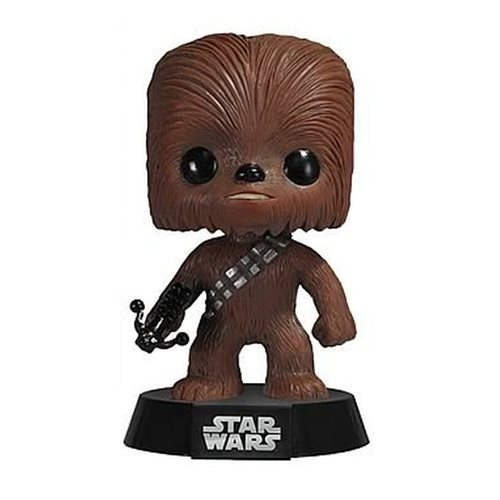 star wars chewbacca pop vinyl figure bobble head funko star wars pop vinyl figures at. Black Bedroom Furniture Sets. Home Design Ideas