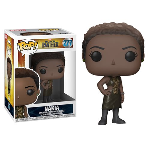 Black Panther Nakia Pop! Vinyl Figure #277