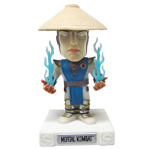 SDCC Glow in the Dark Mortal Kombat Raiden Bobble Head
