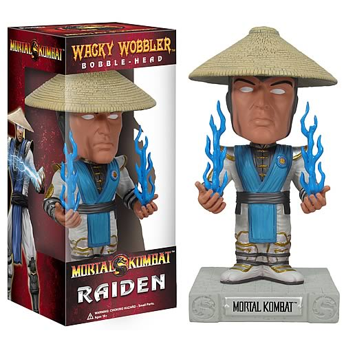 Mortal Kombat Raiden Bobble Head