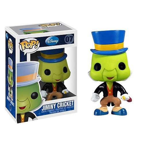 Pinocchio Jiminy Cricket Pop! Disney Pop! Vinyl Figure