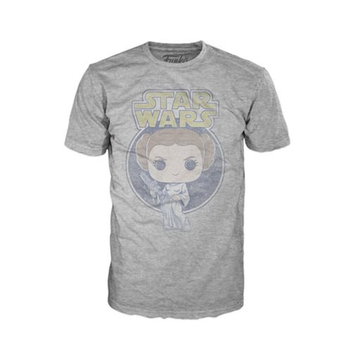 Star Wars Princess Leia Retro Pop! T-Shirt