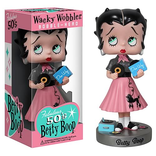 1950s Betty Boop Wacky Wobbler Bobble Head