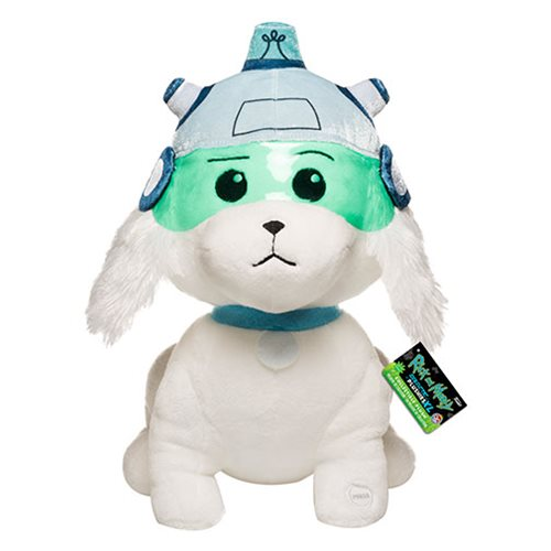 Rick and Morty Snowball 12-Inch Galactic Plush with Sound