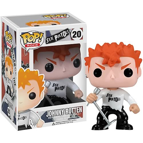 Sex Pistols Johnny Rotten Rock Pop! Vinyl Figure