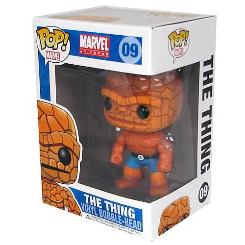 Fantastic Four Thing Marvel Pop! Vinyl Bobble Head