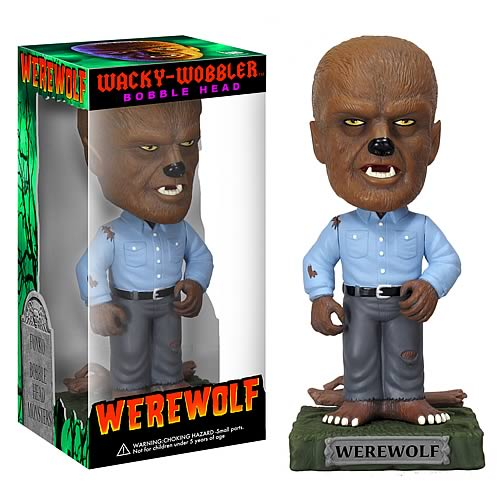 Wolfman Bobble Head