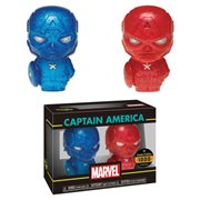 Captain America Blue and Red Hikari XS Figure 2-Pack