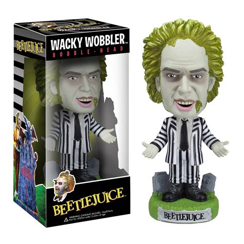 Beetlejuice Bobble Head