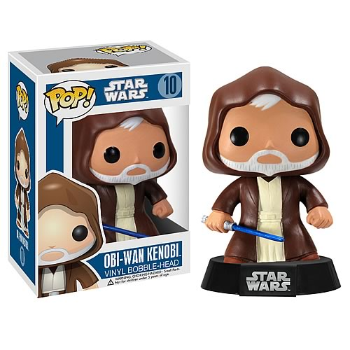 Star Wars Obi-Wan Kenobi Pop Vinyl Bobble Head
