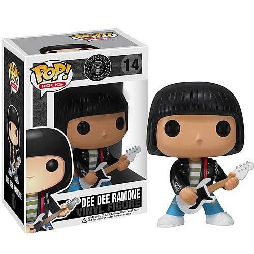 Ramones Dee Dee Ramone Pop! Vinyl Figure