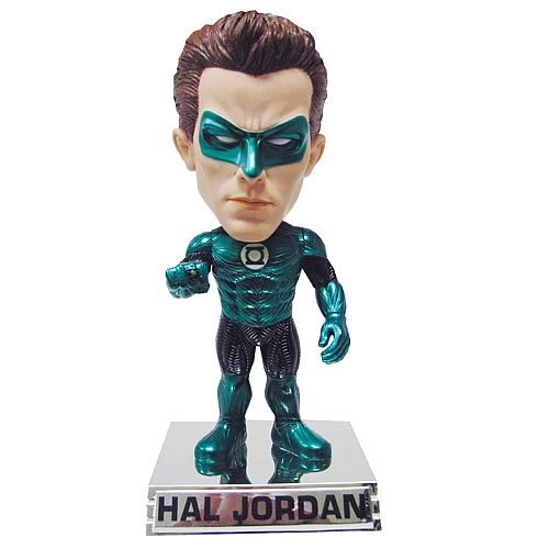 SDCC Green Lantern Movie Hal Jordan Metallic Bobble Head
