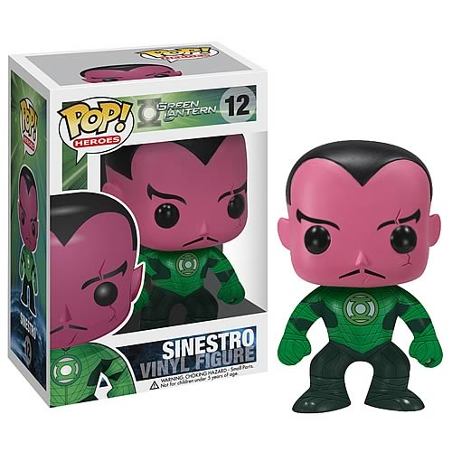 Green Lantern Movie Sinestro Pop! Vinyl Figure