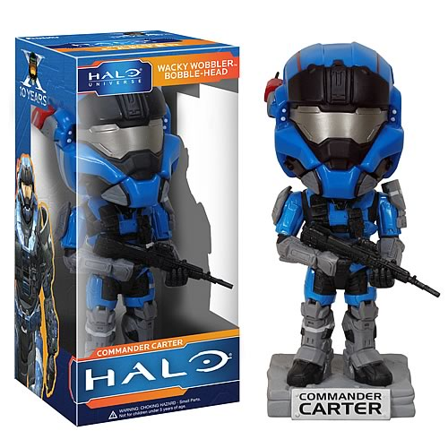 Halo Reach Carter Bobble Head