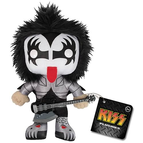 KISS Gene Simmons Demon Plush