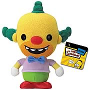Simpsons Krusty the Clown Plush