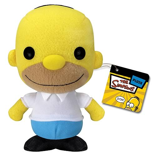 Homer Simpson Plush