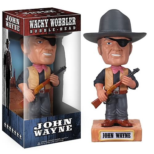 John Wayne True Grit Movie Talking Bobble Head