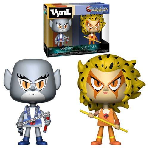 Thundercats Panthro and Cheetara Vynl. Figure 2-Pack