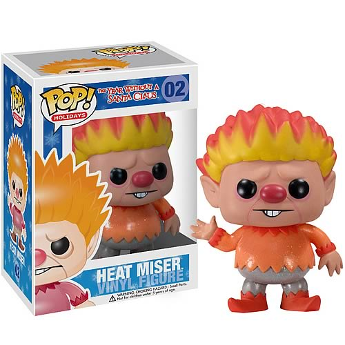 Year Without Santa Claus Pop Holiday Heat Miser Figure