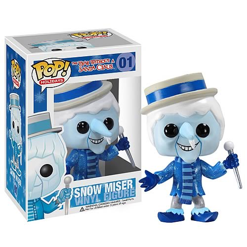 Year Without Santa Claus Pop Holiday Snow Miser Figure