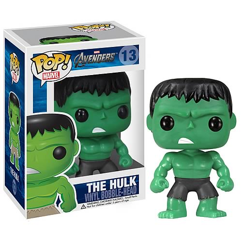 Avengers Movie Hulk Pop! Vinyl Bobble Head