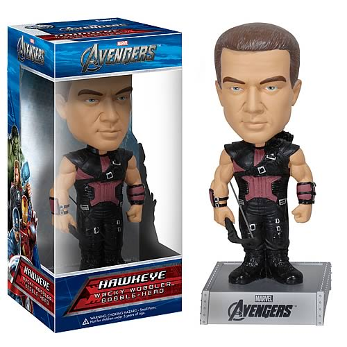 Avengers Movie Hawkeye Bobble Head