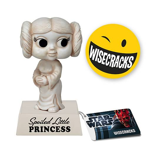 Star Wars Wisecracks Leia Spoiled Little Princess Figure