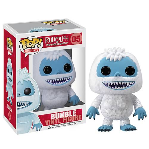 Rudolph Red-Nosed Reindeer Pop Holiday Bumble Vinyl Figure