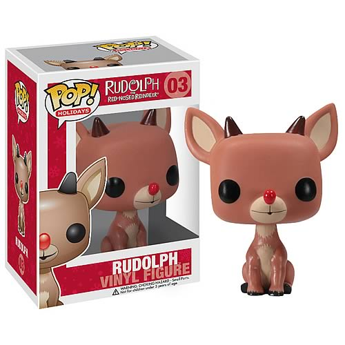 Rudolph Red-Nosed Reindeer Pop Holiday Rudolph Vinyl Figure
