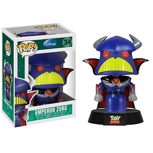 Toy Story Emperor Zurg Series 3 Disney Pop! Vinyl Figure