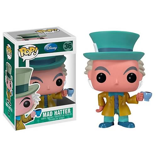 Alice in Wonderland Mad Hatter Disney Pop! Vinyl Figure