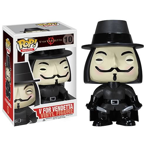 V for Vendetta Movie Pop Vinyl Figure
