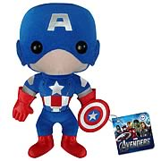 Avengers Movie Captain America Plush