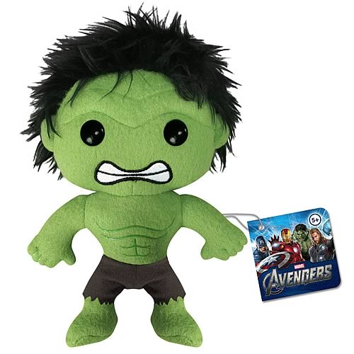 Avengers Movie Hulk Plush