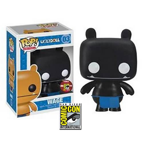 Uglydoll Black Wage SDCC 2012 Exclusive Pop! Vinyl Figure