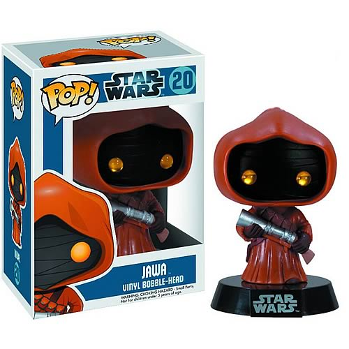 Star Wars Jawa Pop! Vinyl Bobble Head