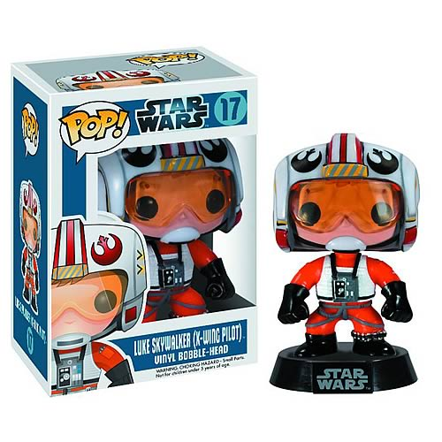 Star Wars Pilot Luke Skywalker Pop! Vinyl Bobble Head
